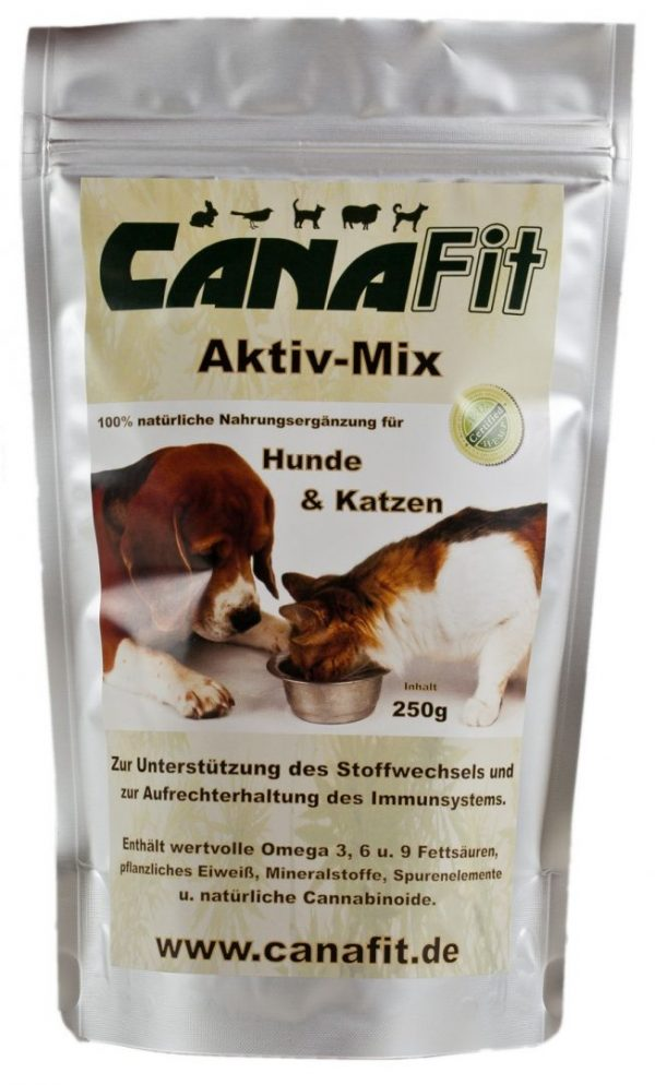 CANAFIT ACTIVE MIX FOR DOGS & CATS - 250 G-0