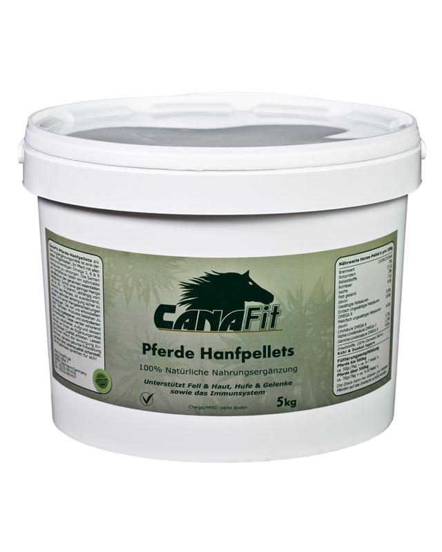 CANAFIT HORSE HEMP PELLETS - 5 KG-0