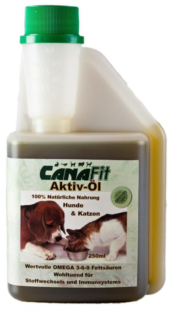 CANAFIT ACTIVE OIL FOR DOGS & CATS - 250 ML-0