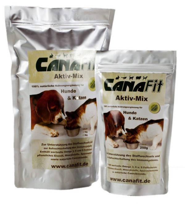 CANAFIT ACTIVE MIX FOR DOGS & CATS - 750 G-0