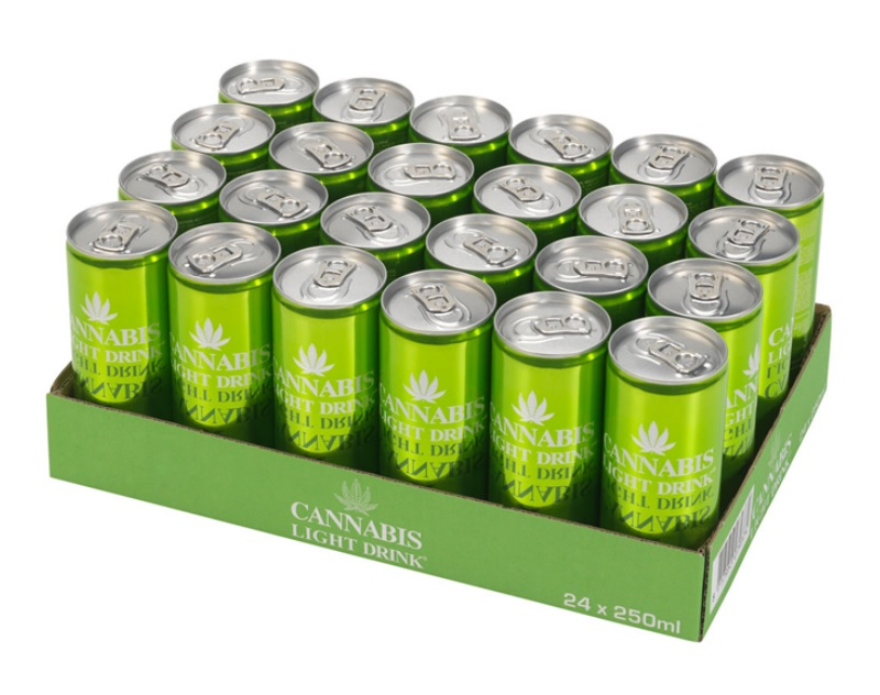 Cannabis Energy Drink Light - Tray
