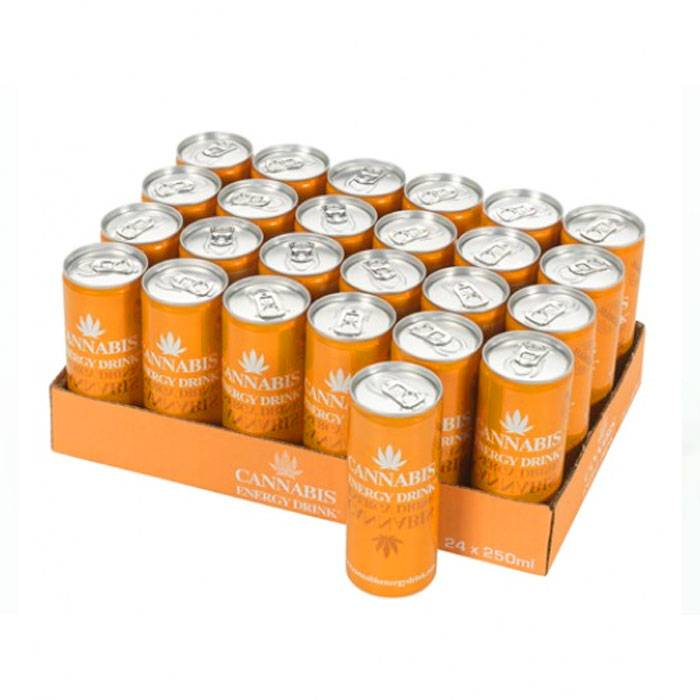 Cannabis Energy Drink Mango - Tray