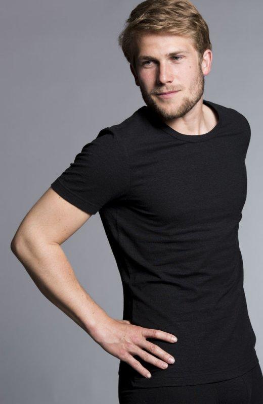 Slim Hemp T-shirt - Black