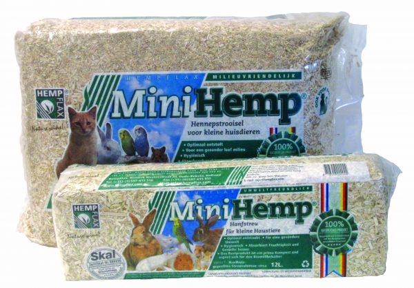 Mini hemp Bedding - 48 L-0