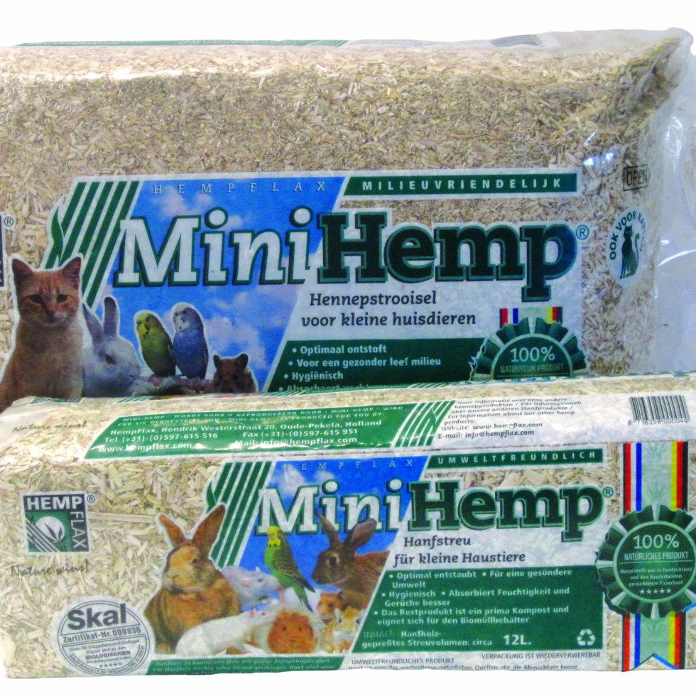 Mini hemp Bedding - 48 L-0