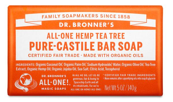 Buy Tea Tree Pure-Castile Bar Soap - 140 g