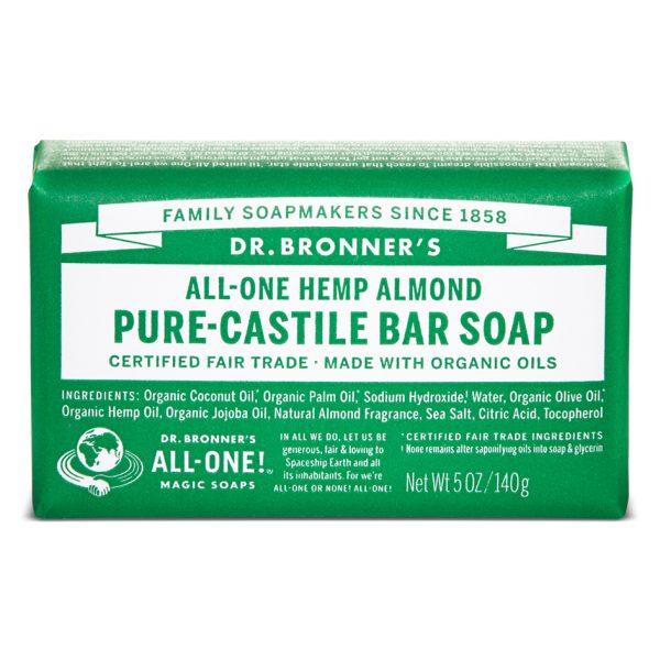 Buy Almond Pure - Castile Bar Soap 140 g
