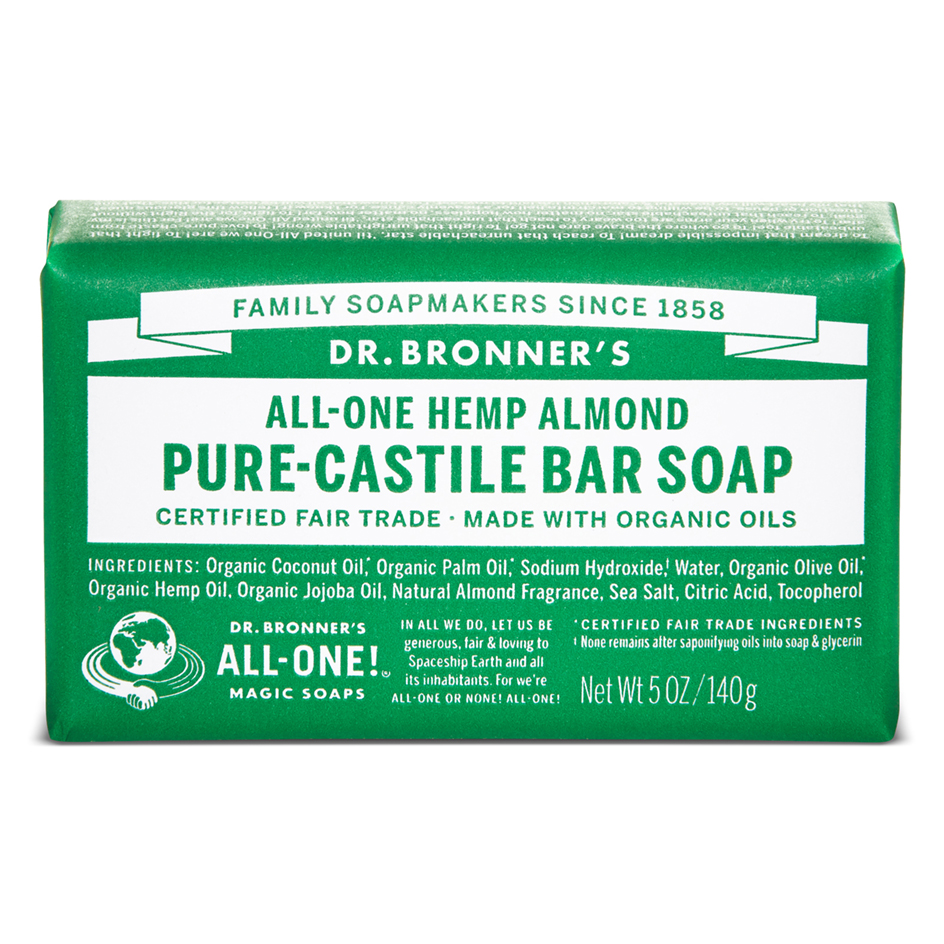 Buy Almond Pure - Castile Bar Soap 140 g