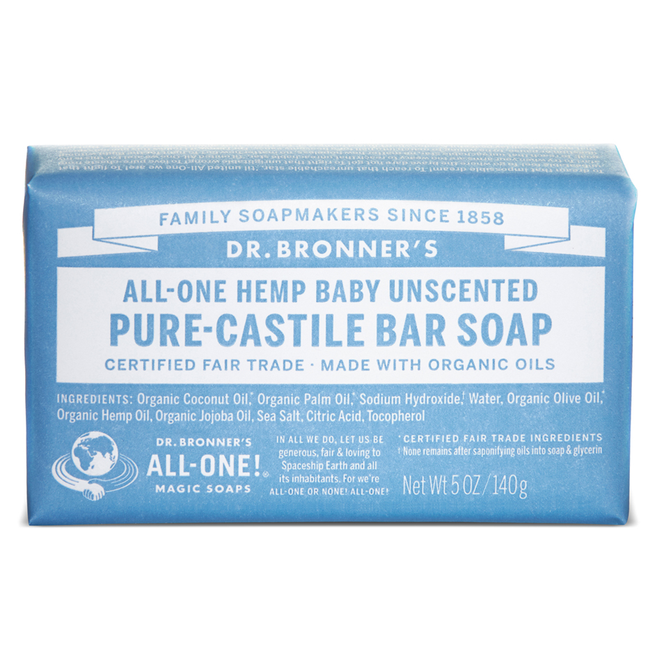 Buy Baby Unscented Pure - Castile Bar Soap - 140 g