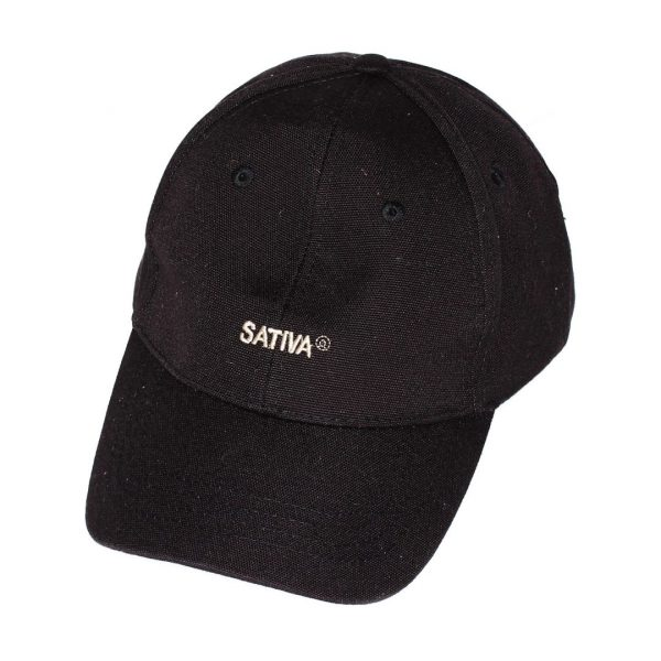 Black Baseball Cap - Hemp