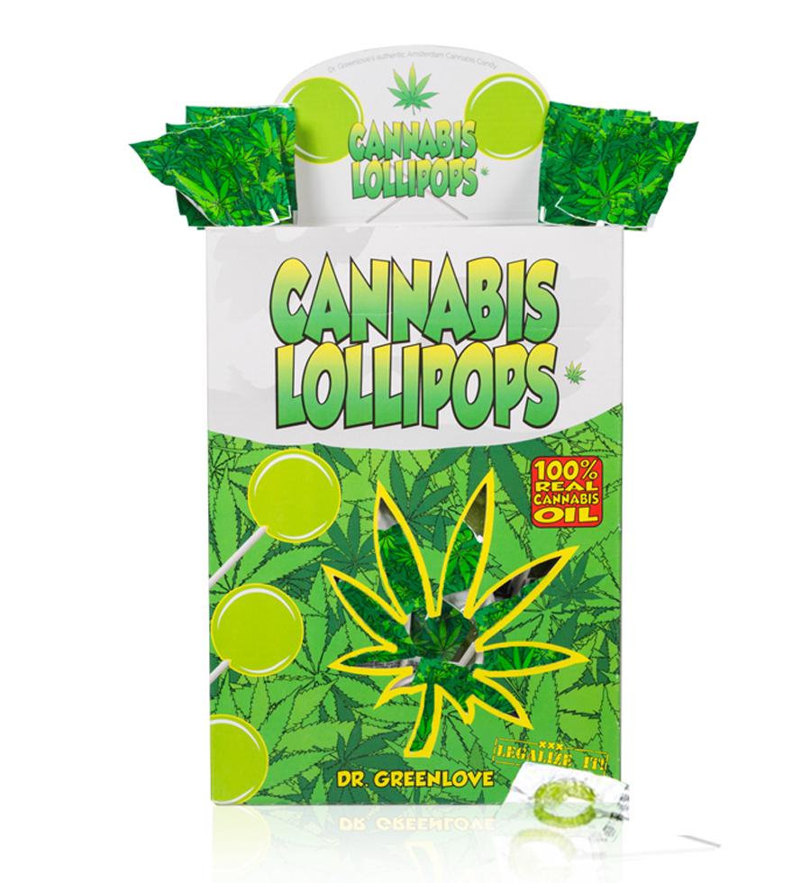 Cannabis Lollipops - Classic