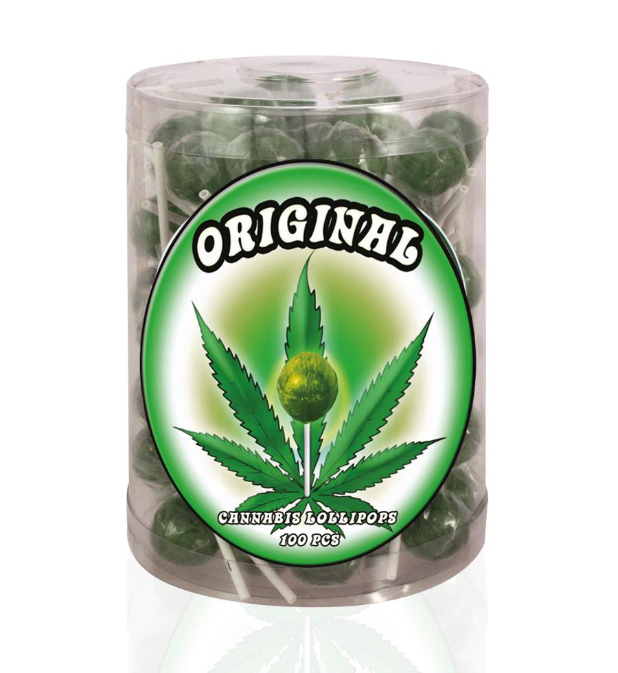 Cannabis Lollipops - Original