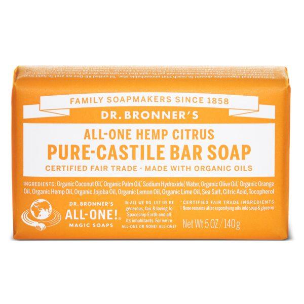 Buy Citrus Pure-Castile Bar Soap - 140 g