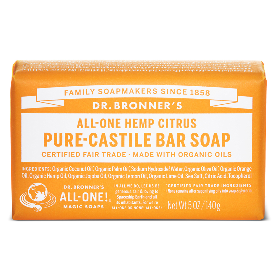 Buy Citrus Pure-Castile Bar Soap - 140 g