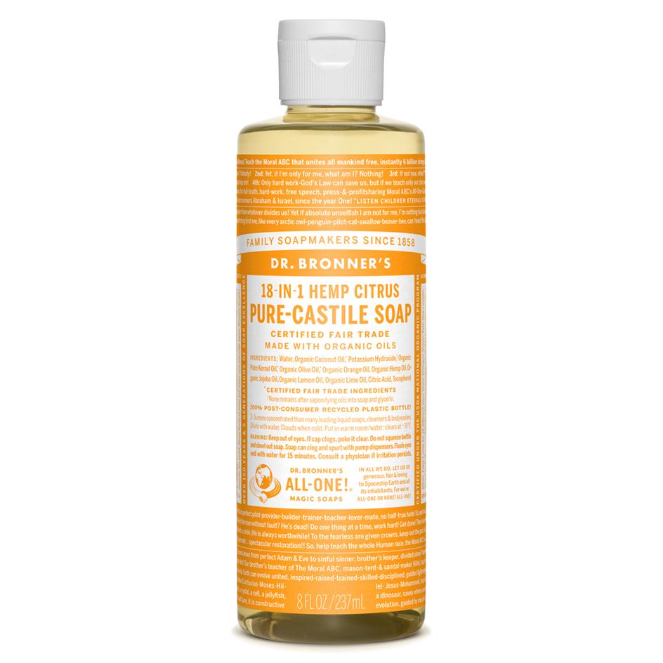Citrus Pure-Castile Liquid Soap - 247 ml