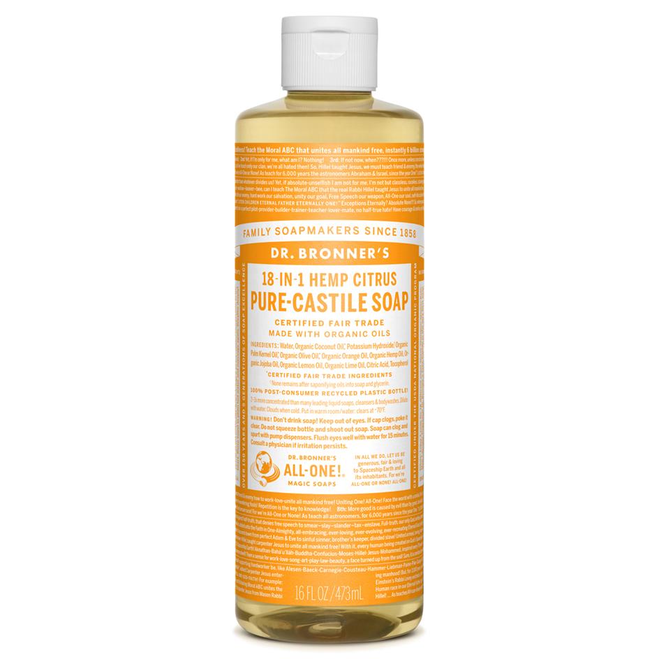 Citrus Pure-Castile Liquid Soap - 473 ml