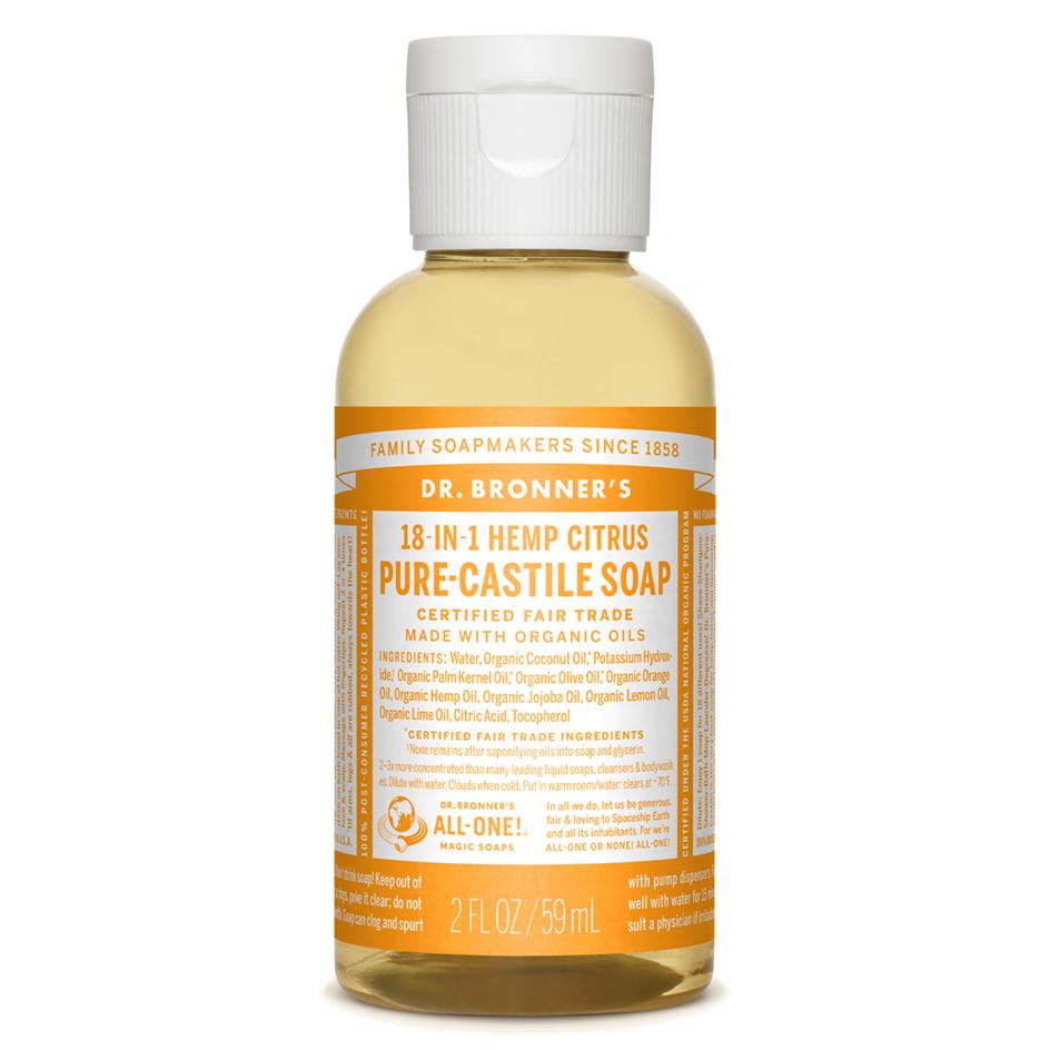 Citrus Pure-Castile Liquid Soap - 59 ml