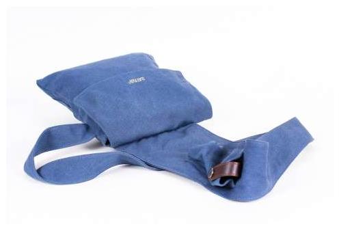 Cross Over Shoulder Bag - Steel Blue