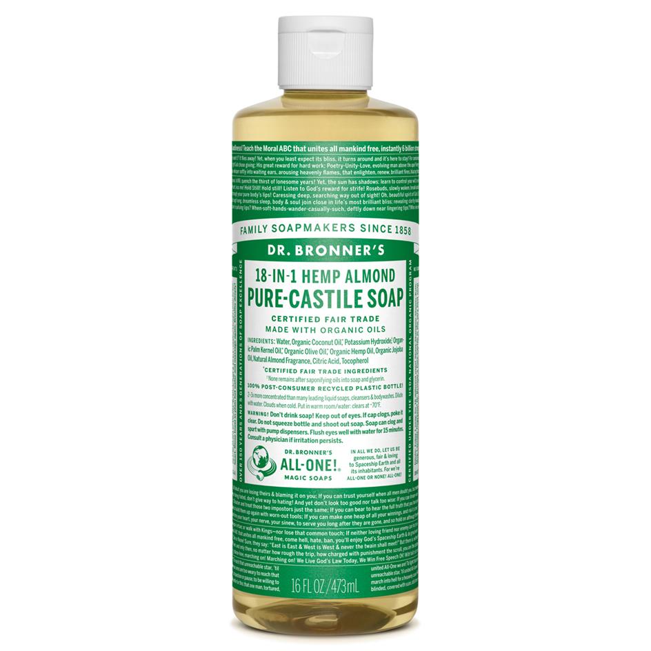Almond Pure - Castile Liquid Soap - 473 ML