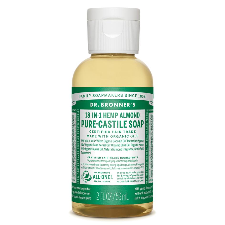 Almond Pure - Castile Liquid Soap - 59 ML