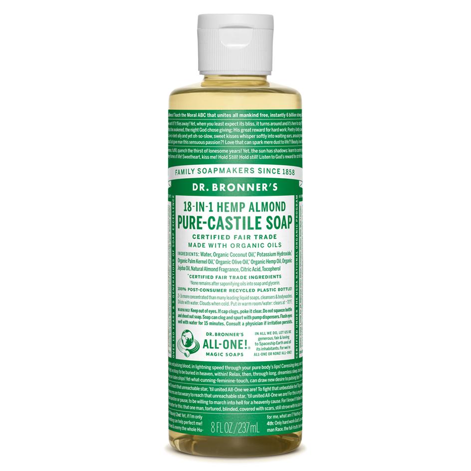 Almond Pure - Castile Liquid Soap - 237 ML