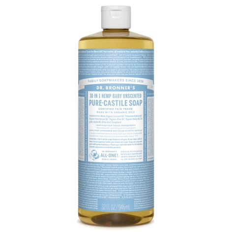 Baby Unscented Pure - Castile Liquid