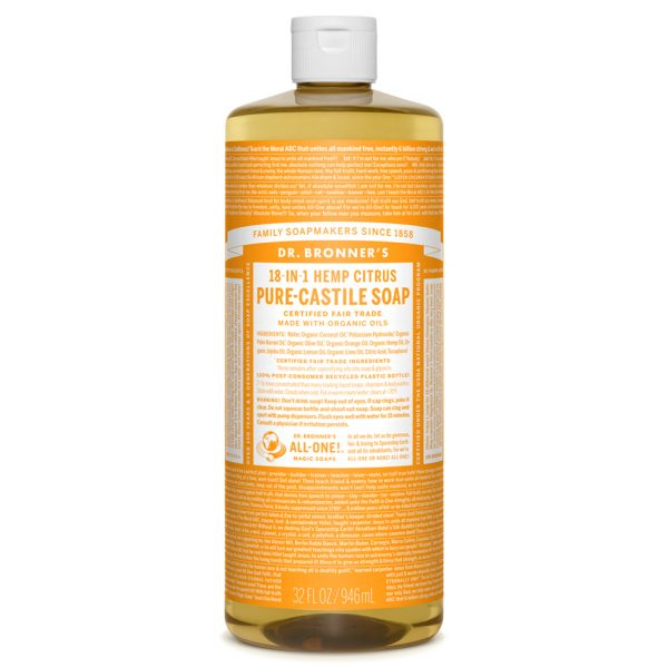 Citrus Pure - Castile Liquid Soap - 1 L