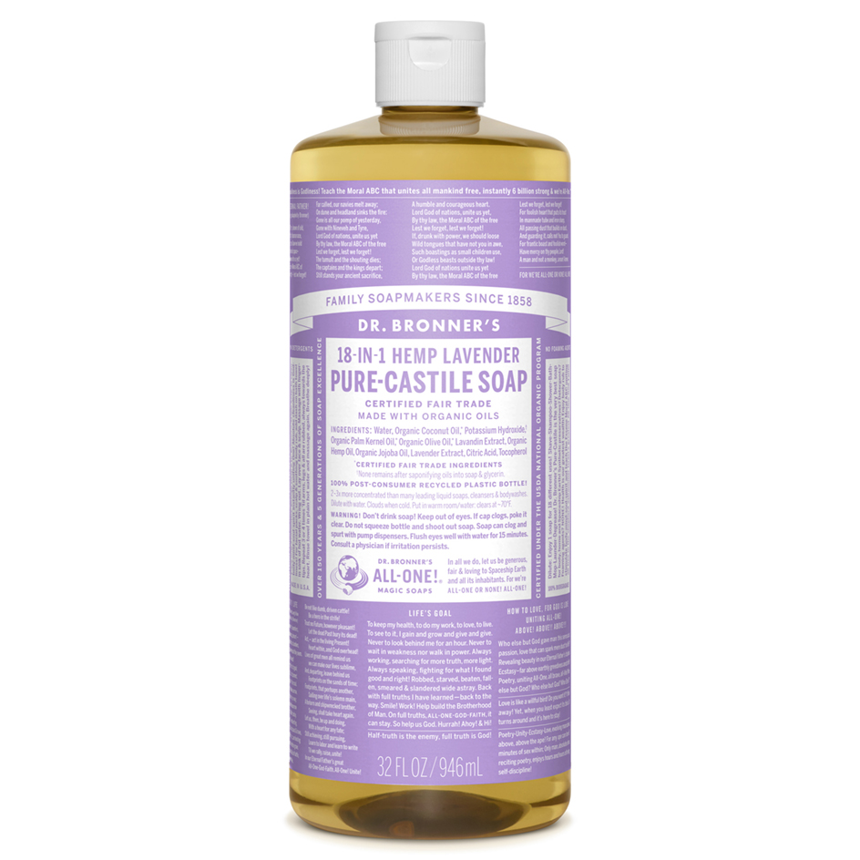 Lavender Pure - Castile Liquid Soap - 1 L