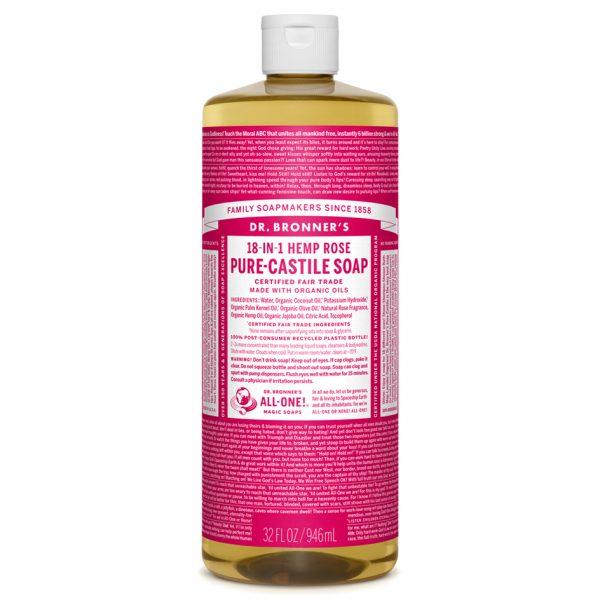 Buy Rose Pure - Castile Liquid Soap