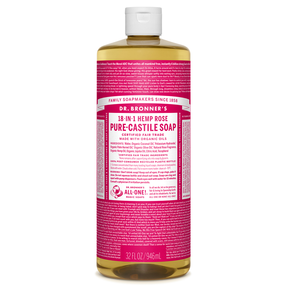 Buy Rose Pure - Castile Liquid Soap