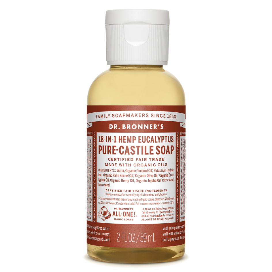 Eucalyptus Pure-Castile Liquid Soap - 59 mL