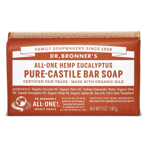 Buy Eucalyptus Pure - Castile Bar Soap - 140 g