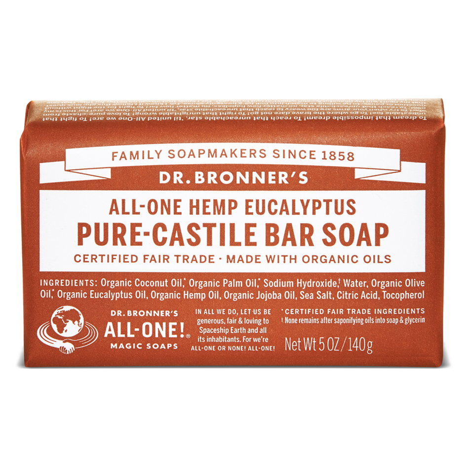Buy Eucalyptus Pure - Castile Bar Soap - 140 g