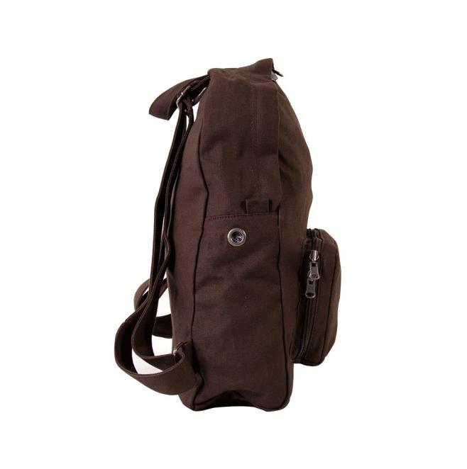 Fold Up Rucksack - Brown
