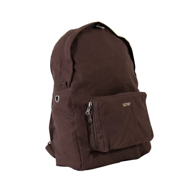 Fold Up Rucksack - Brown