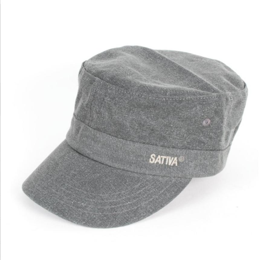 Grey Hemp & Cotton Mix Cap