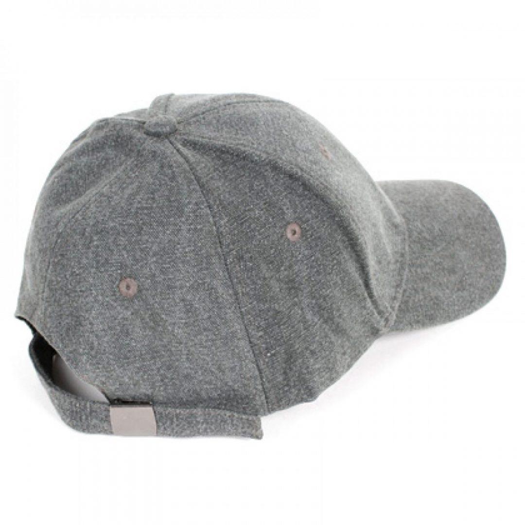 Grey Baseball Cap - Hemp