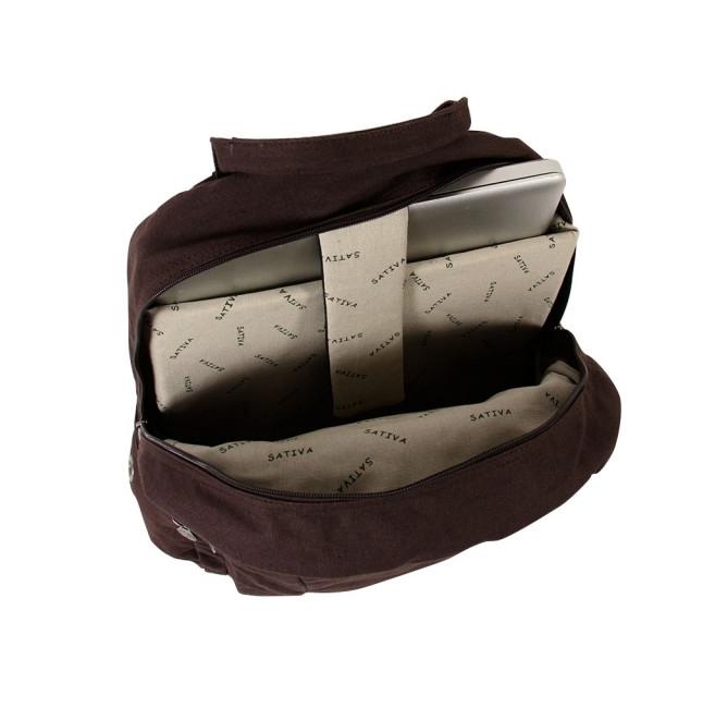 Laptop Rucksack - Brown