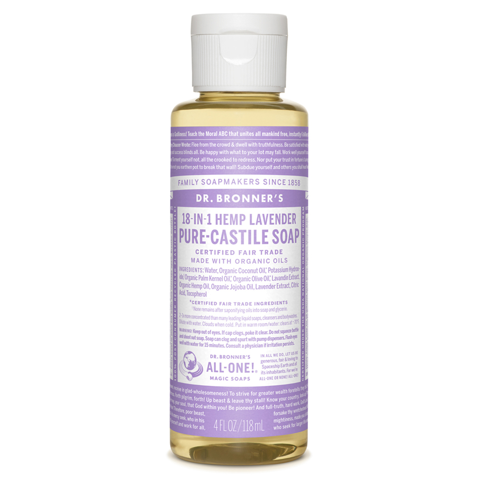 Lavender Pure-Castile Liquid Soap - 118 mL