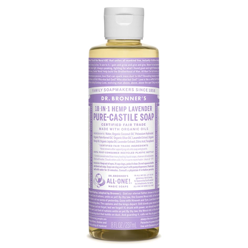 Lavender Pure-Castile Liquid Soap - 237 mL