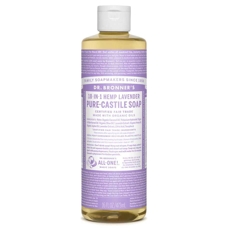 Lavender Pure-Castile Liquid Soap - 473 mL