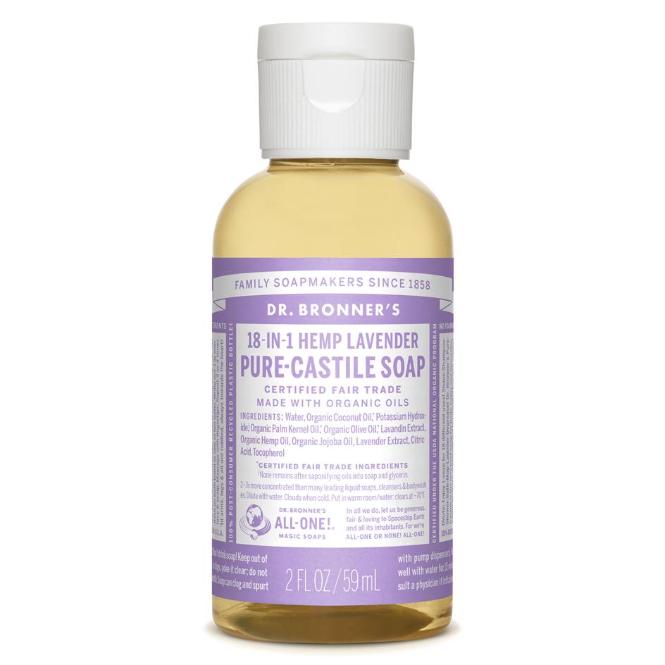 Lavender Pure-Castile Liquid Soap - 59 mL
