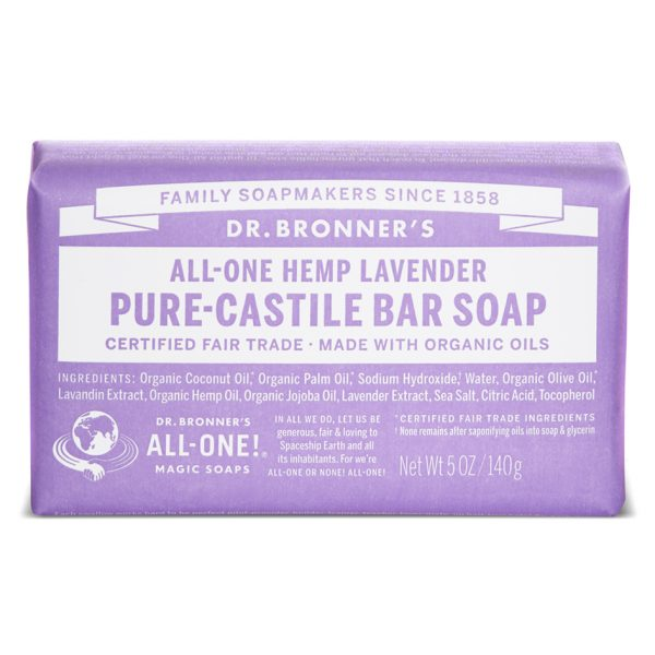 Lavender Pure - Castile Bar Soap -140 g