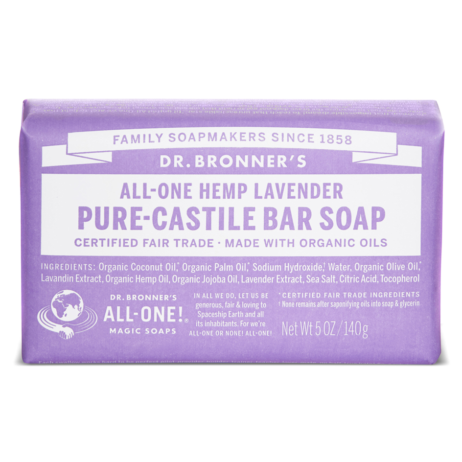 Lavender Pure - Castile Bar Soap -140 g