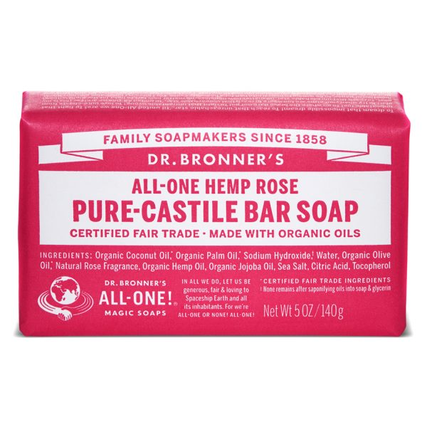 Buy Rose Pure - Castile Bar Soap - 140 g