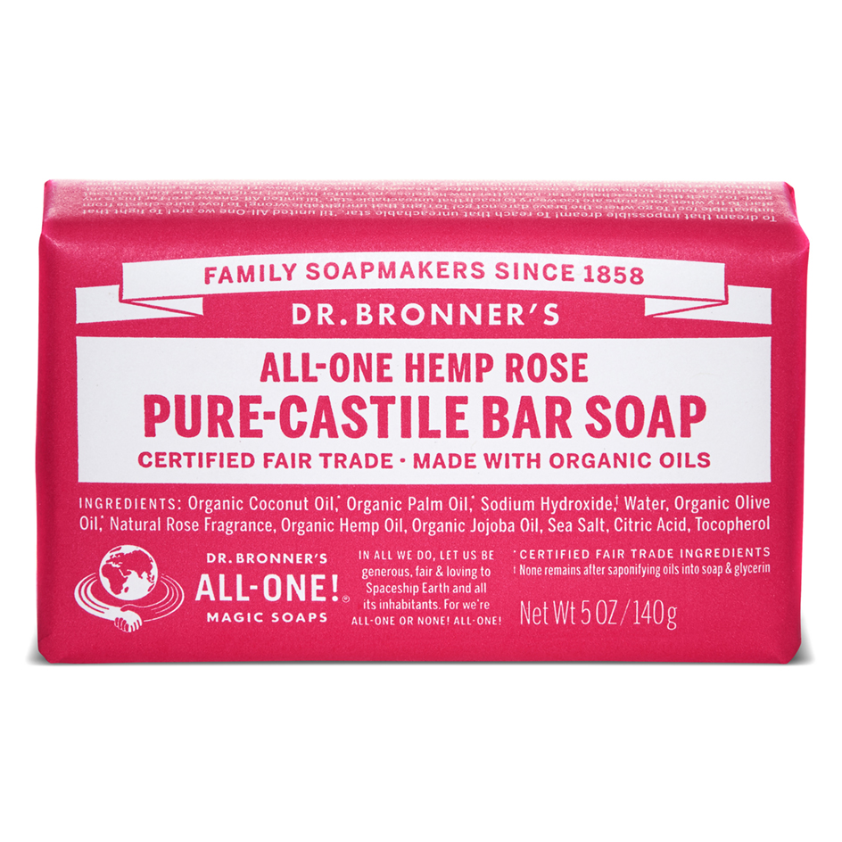 Buy Rose Pure - Castile Bar Soap - 140 g