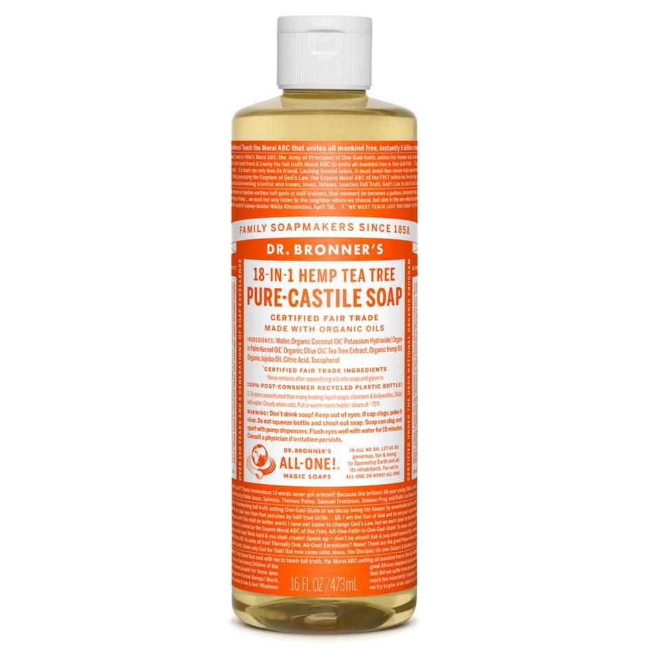 Tea Tree Pure-Castile Liquid Soap - 473 mL