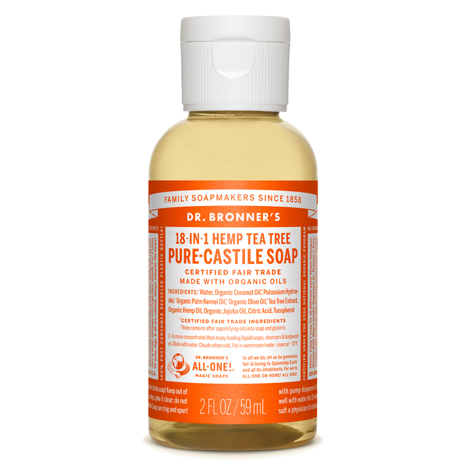 Tea Tree Pure-Castile Liquid Soap - 59 mL