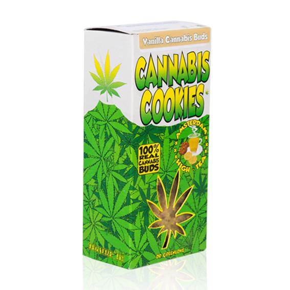 Vanilla Cannabis Bud Cookies - 80 g