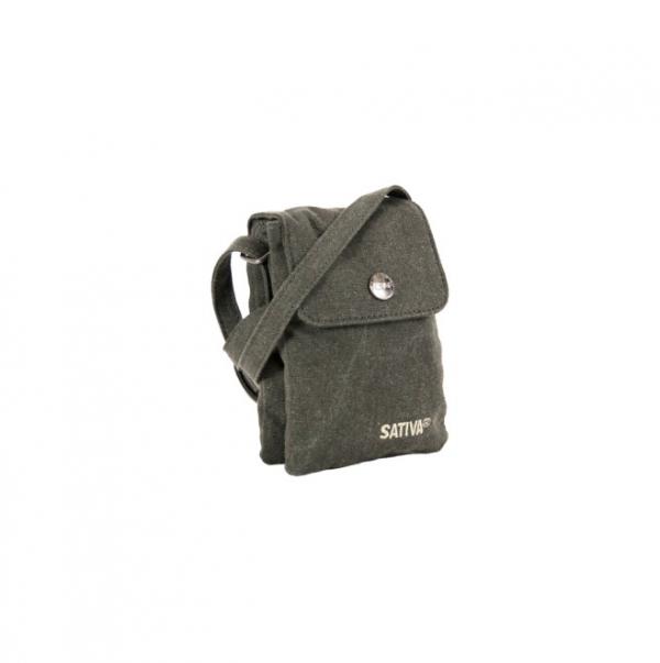 Hemp Mini Shoulder Bag - Grey